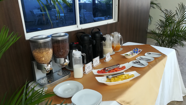 Breakfast time, typical food, Santa Marta